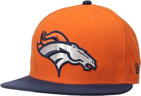 New Era - Gorra, diseño de los Denver Broncos naranja naranja ...
