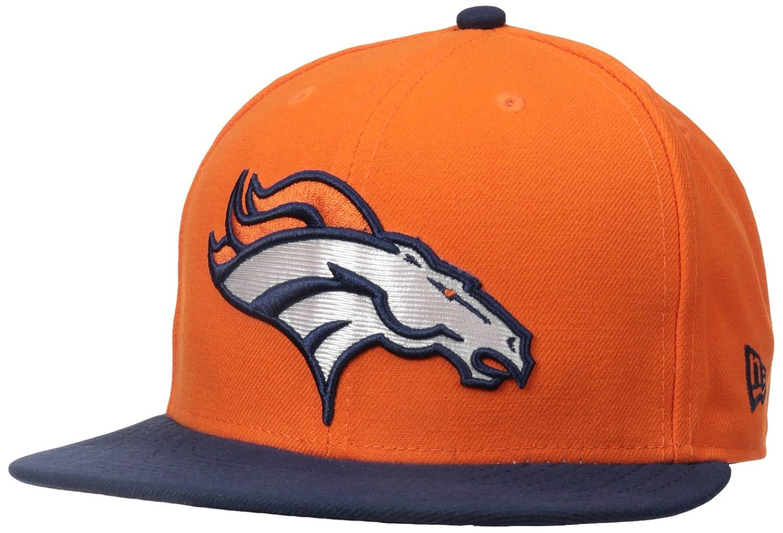 377eba6562d Amazon.com   NFL Mens Denver Broncos On Field 5950 Orange Game Cap By New  Era   Sports Fan Baseball Caps   Clothing