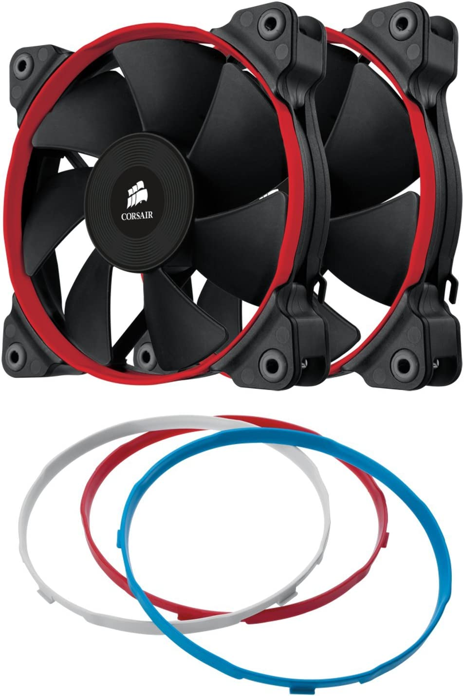 Corsair SP120 Performance Edition Ventilador de PC, 120 mm (Paquete Doble)