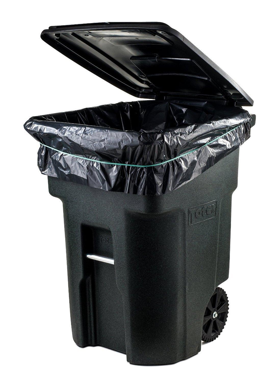 galleon toughbag 95 gal trash bags black 2 mil 61x68 25 garbage bags per case. Black Bedroom Furniture Sets. Home Design Ideas