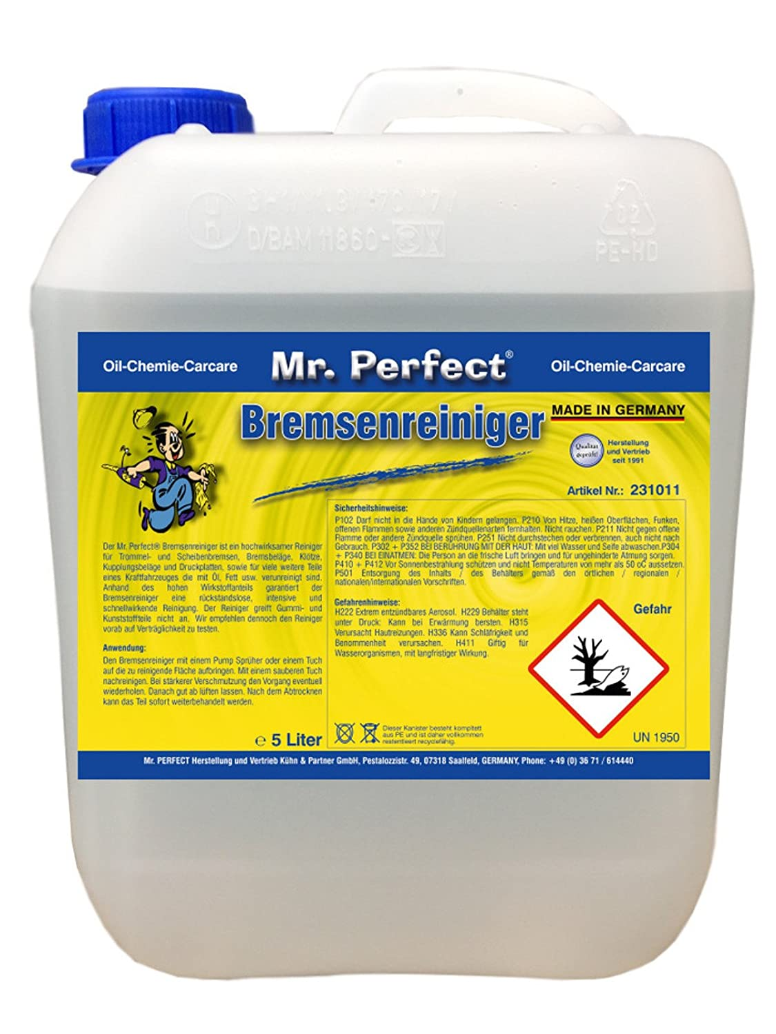 Mr.Perfect Bremsenreiniger 5 Liter Mr. Perfect