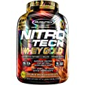 MuscleTech Nitro Tech Whey Gold 100% Whey Protein Powder