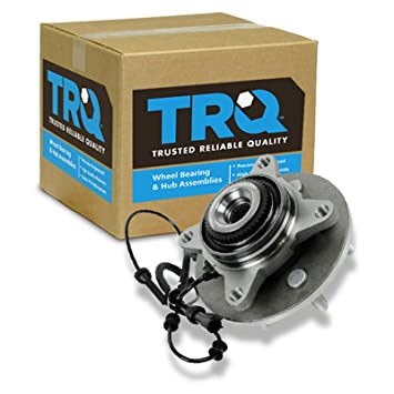 TRQ Front Wheel Hub /& Bearing Left or Right for Ford F250 F350 Excursion 4x4 4WD