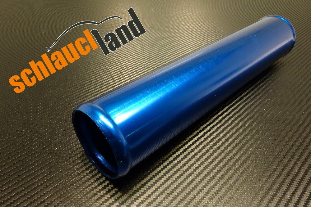 Schlauchland 30cm Alu-Rohr AD 51mm ***** Alurohr Aluminiumrohr Aluminum Pipe Turborohr Ladeluftk/ühler Turbo