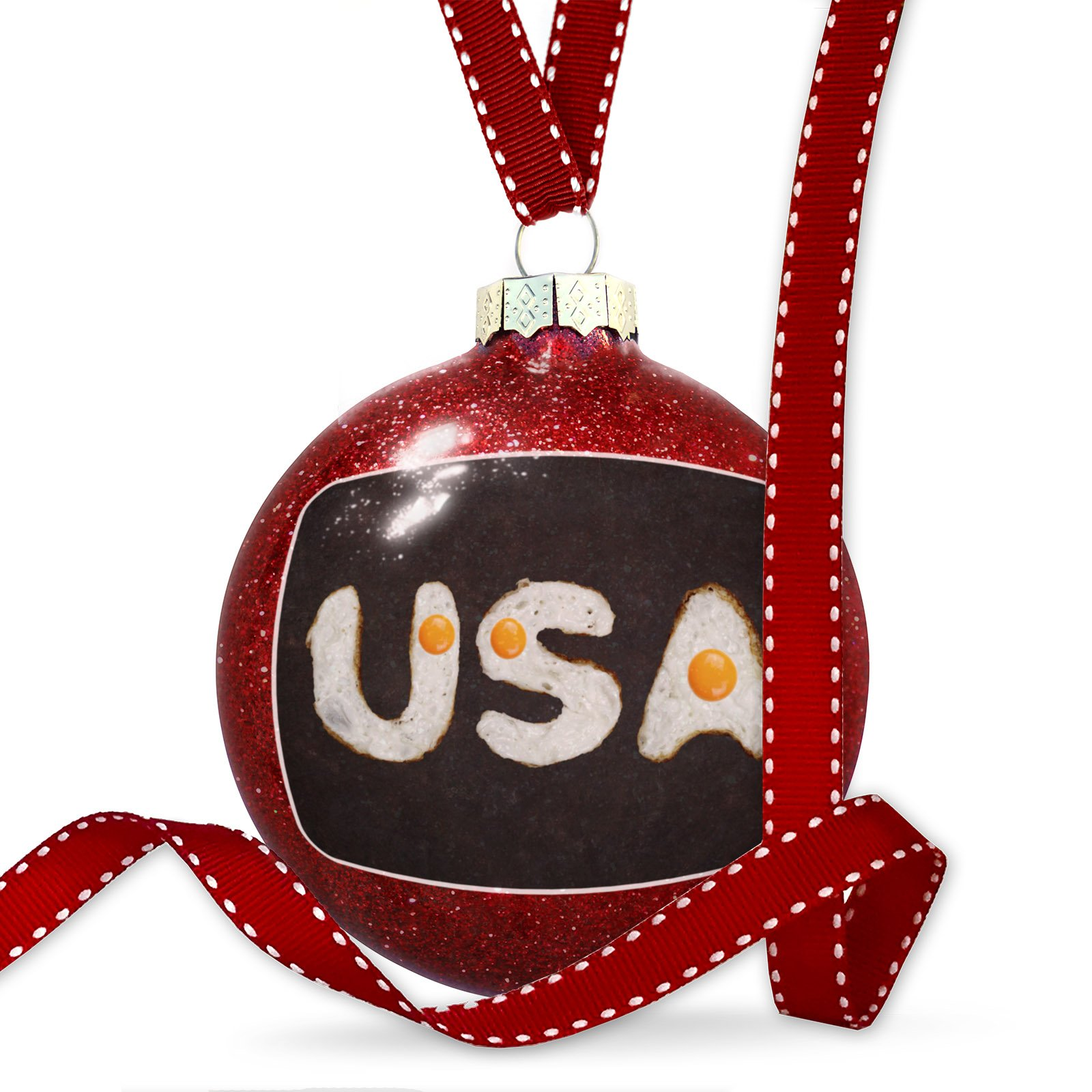 Christmas Decoration United States of America Eggs Ornament