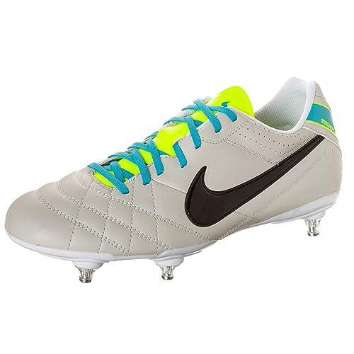 Zapatillas de fútbol Sala Nike Tiempo Natural IV LTR SG: Amazon.es: Zapatos y complementos
