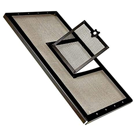Zilla Reptile Fresh Air Screen Cover With Hinged Door, 30 1/4 By