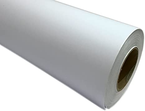 "1 Roll Silver Self-Adhesive Sign Vinyl 24/"" x 150 ft or 50 yd"