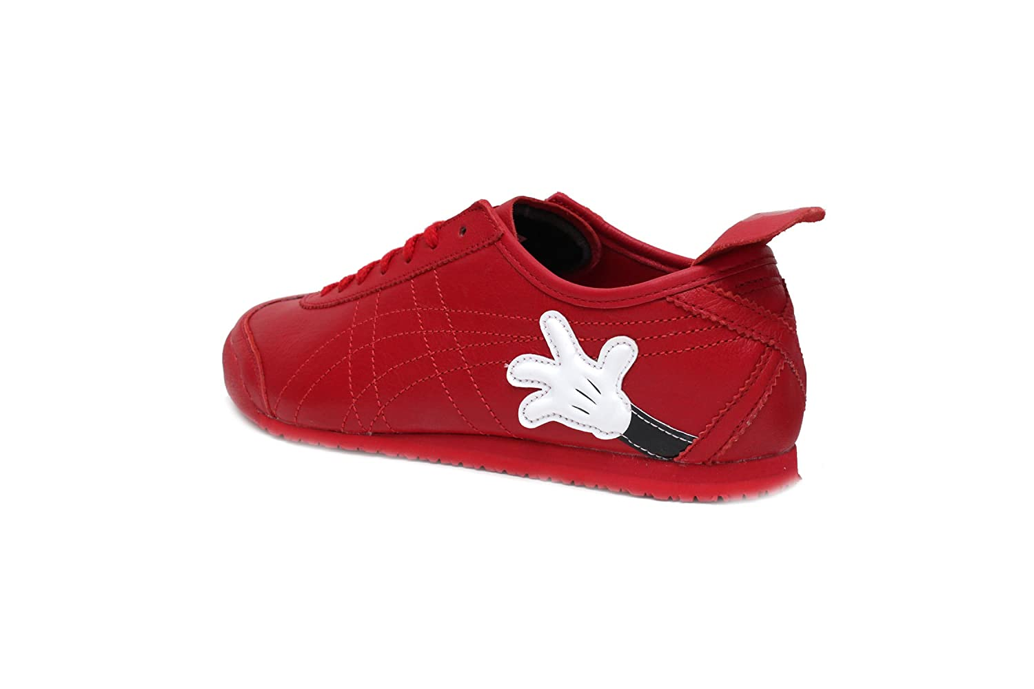 0f9919bca1a7 Amazon.com  Onitsuka Tiger Mexico 66 - Disney (Mickey Mouse) in Classic  Red Classic Red by