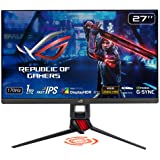 "ASUS ROG Strix XG279Q 27"" HDR Gaming Monitor, 1440P WQHD (2560 x 1440), Fast IPS, 170Hz, G-SYNC Compatible, Extreme Low…"