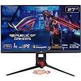 "ASUS ROG Strix XG279Q 27"" HDR Gaming Monitor, 1440P WQHD (2560 x 1440), Fast IPS, 170Hz, G-SYNC Compatible, Extreme Low Motio"