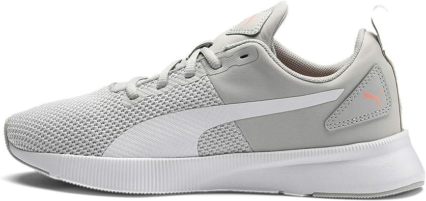 Puma Flyer Runner - Zapatillas de running unisex para adultos, color Gris, talla 43 EU Weit: Amazon.es: Zapatos y complementos