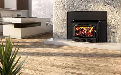 Amazon Com Osburn 2400 Wood Insert Black Cast Iron Door Overlay