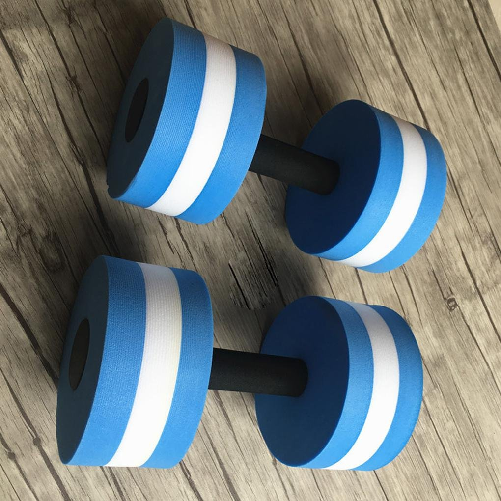 Rekkle 1 par Agua Aerobic Mancuernas acu/ática EVA Barra Aqua Fitness Piscina Yoga Ejercicio de Accesorios el/ásticos