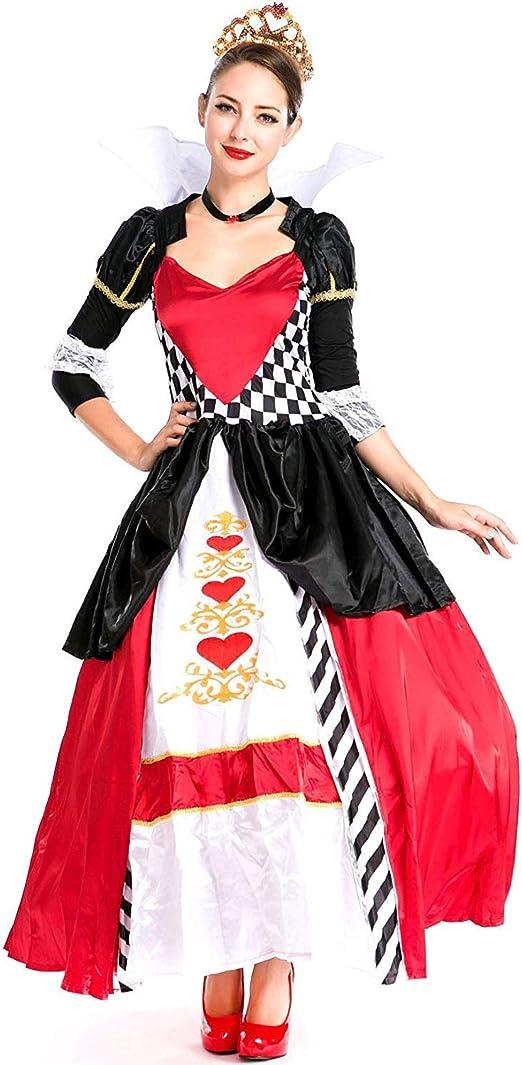 Traje de Cosplay, Disfraces de Halloween, Danza corazón Rojo ...