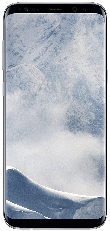 Samsung Galaxy S8+ SM-G955V - 6.2''- 64GB - Verizon + GSM Unlocked (Certified Refurbished) (Arctic Silver)