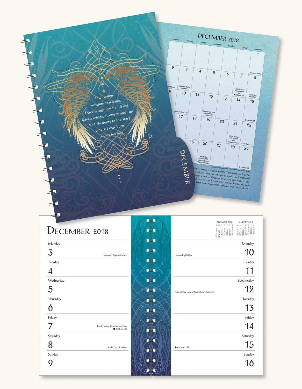 Celtic Mandala 2018 Engagement Datebook Calendar: Jen Delyth, Amber Lotus  Publishing: 0762109024461: Amazon.com: Books