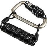 ダイヤルコンボカラビナロック [軽量・コンパクト・多用途 カラビナ型ロック] ダイヤル式 自転車錠
