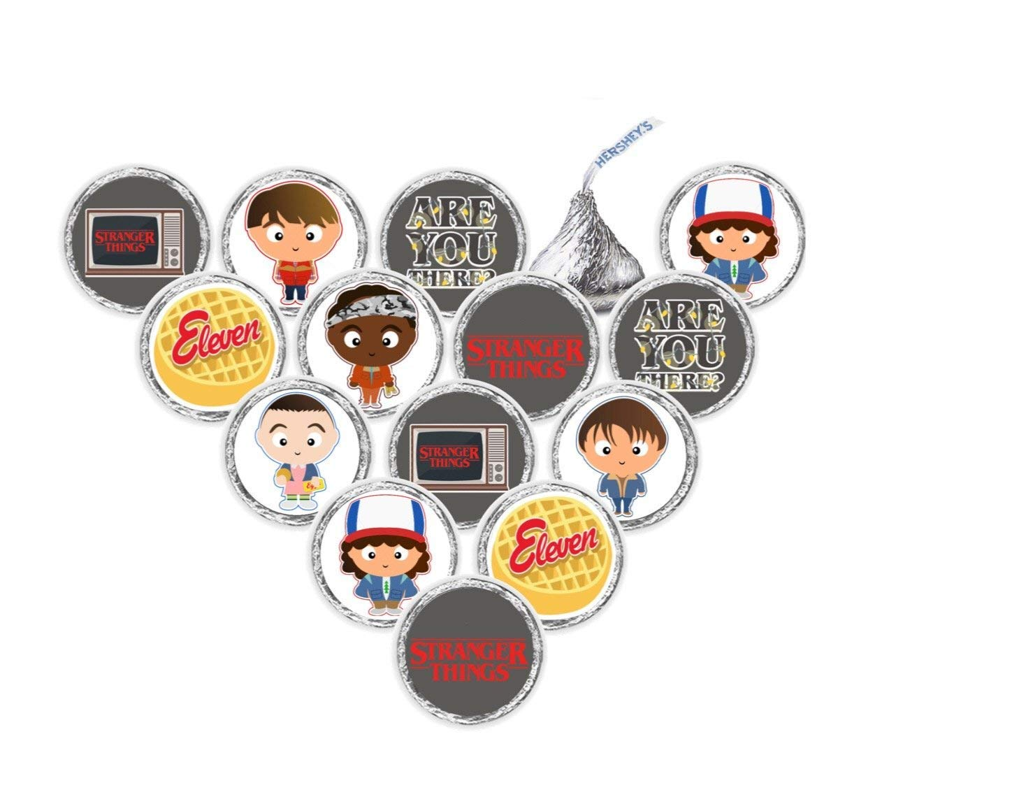 12 Fully Assembled Cupcake Toppers Inspired Stranger Things Cupcake Toppers