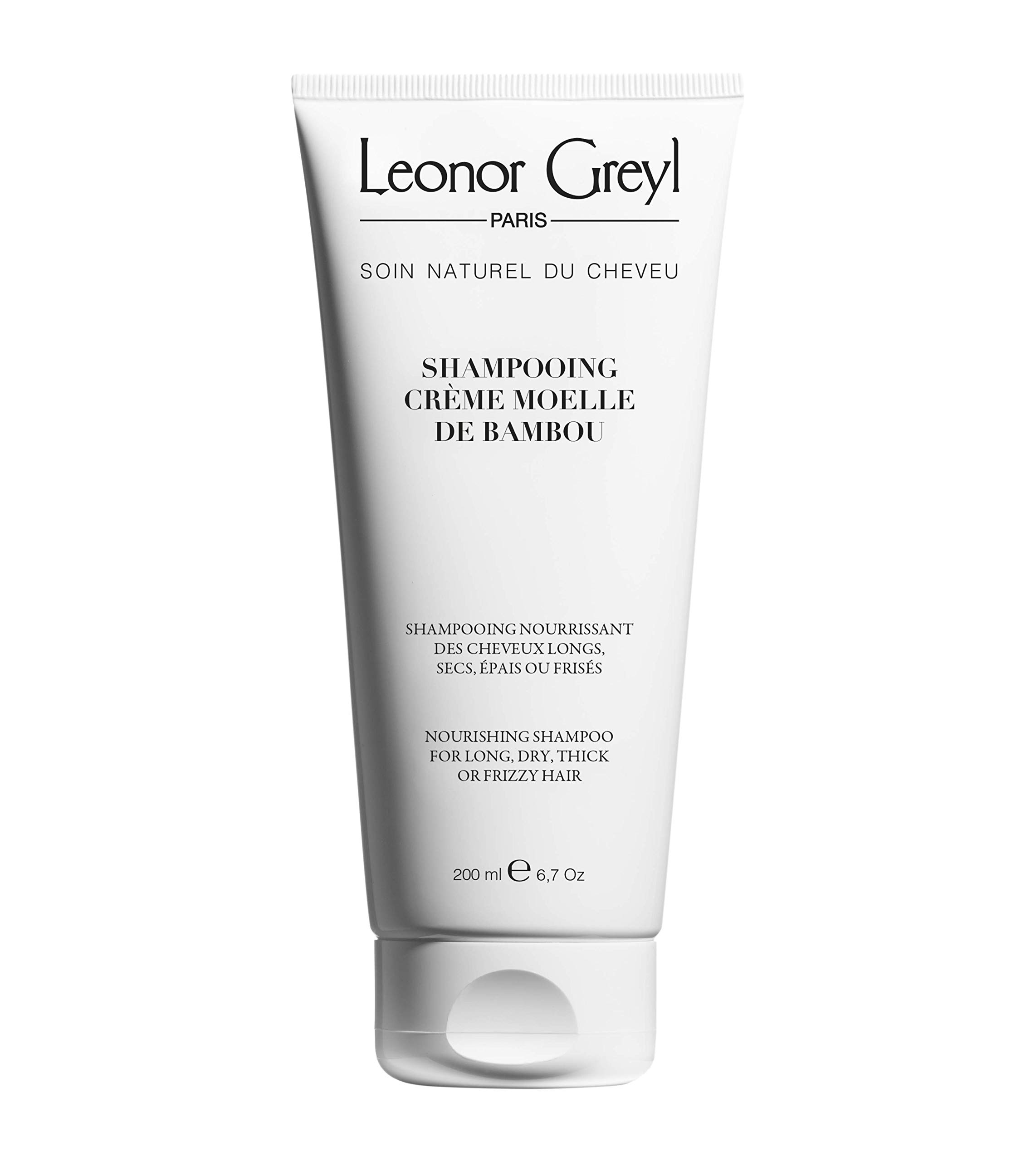Leonor Greyl Paris Shampooing Crème Moelle de Bambou - Nourishing Shampoo for Dry, Thick or Frizzy Hair, 7 oz.
