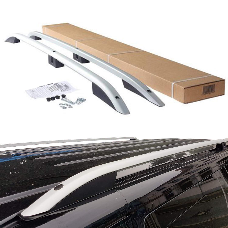 Fiat Doblo II Aluminium Dachreling Dachgep/äcktr/äger ab BJ 2010 Farbe Matt Silver