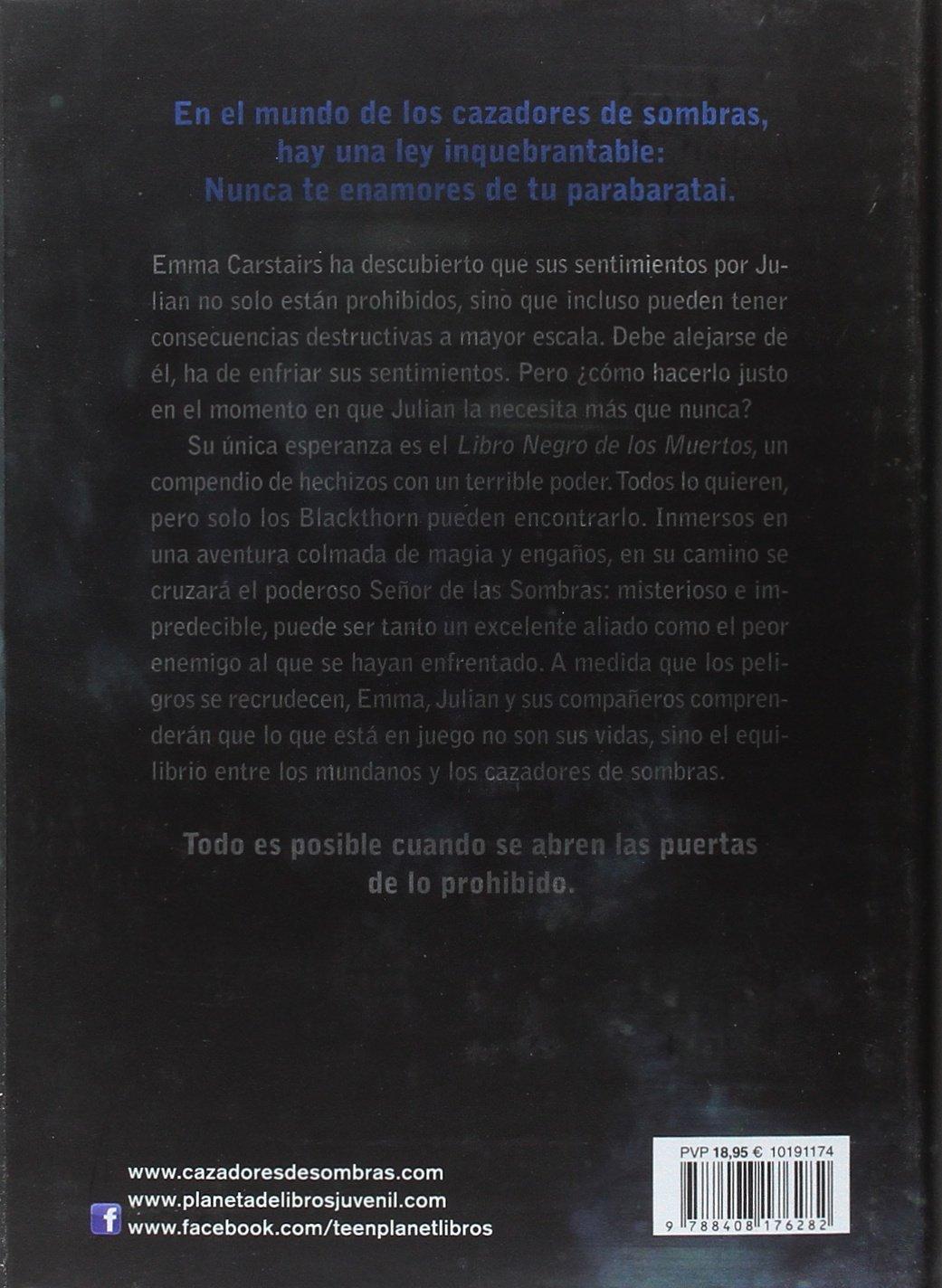 El Señor de las Sombras: Cazadores de Sombras. Renacimiento 2 La Isla del Tiempo  Plus: Amazon.es: Cassandra Clare, Patricia Nunes Martínez: Libros