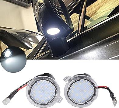 2 PCS 18 LED Under Mirror Puddle Light For Ford Mondeo S-Max EDGE Explorer
