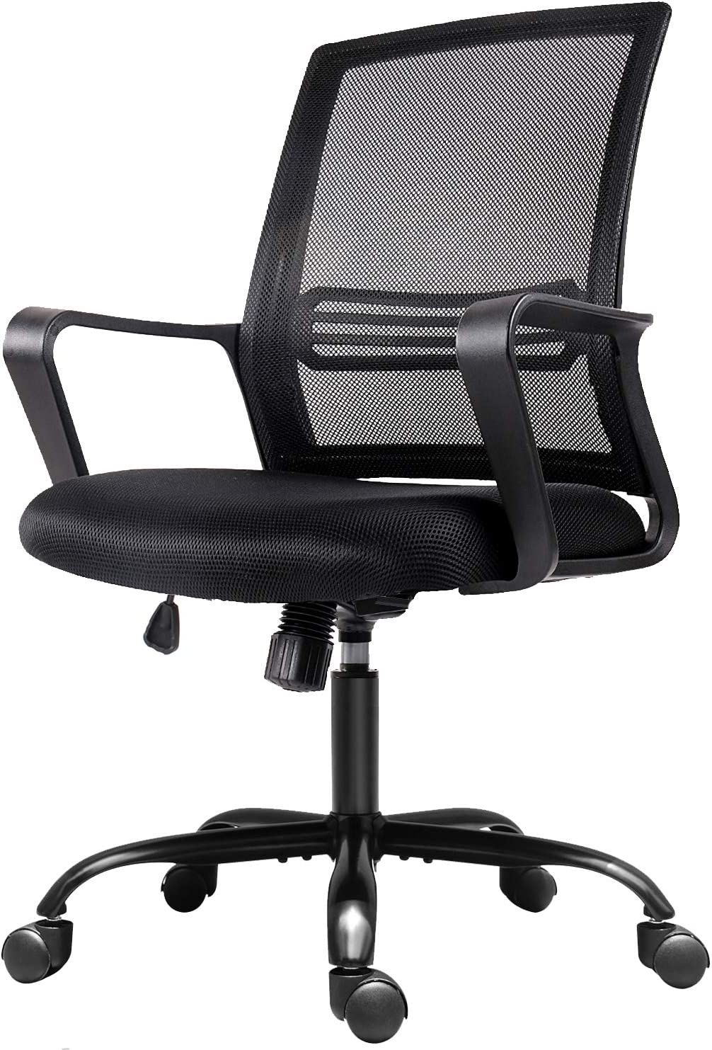 Amazon Com Office Chair Mesh Office Computer Swivel Desk Task Chair Ergonomic Executive Chair With Armrests Furniture Decor