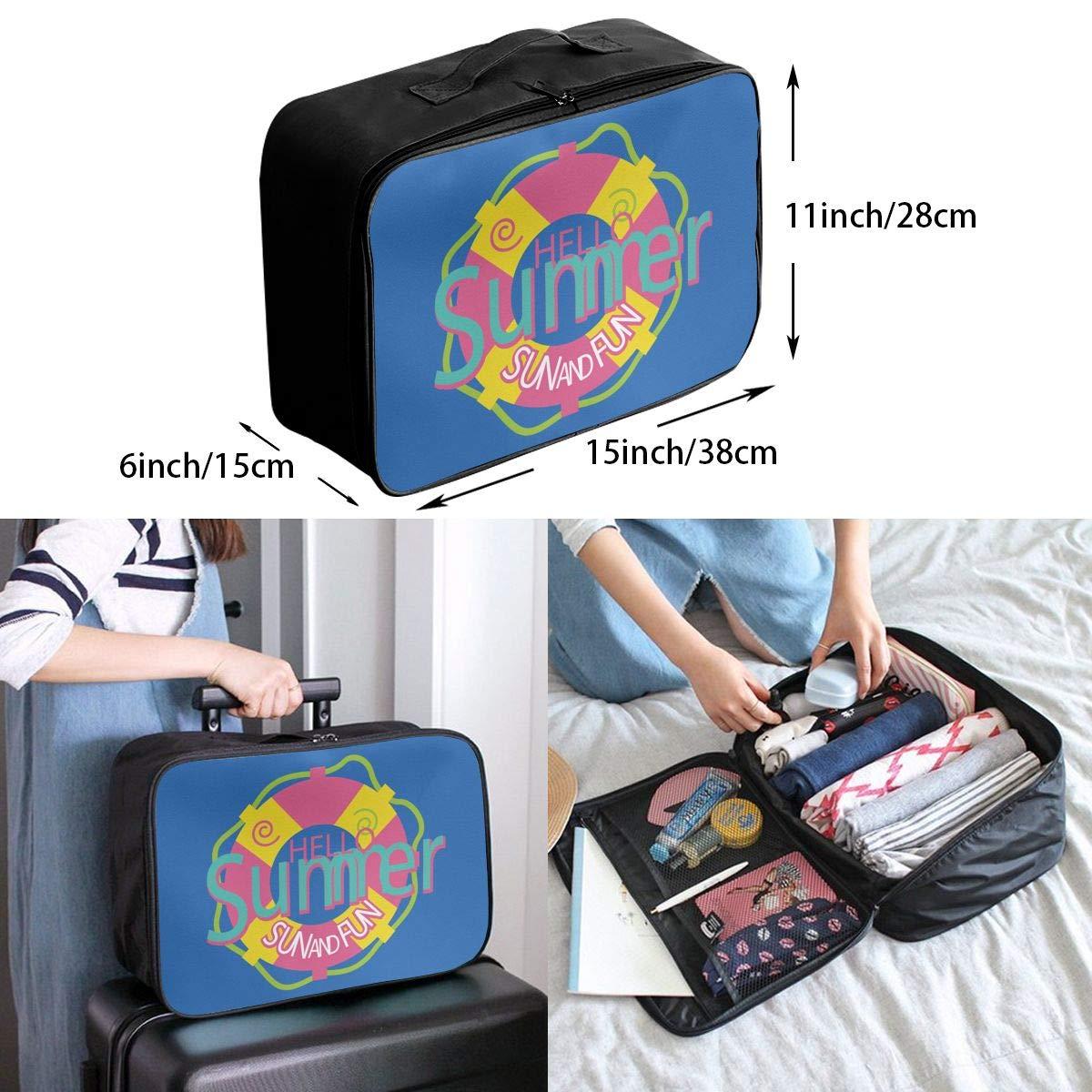 Travel Luggage Duffle Bag Lightweight Portable Handbag Enjoy Summer Large Capacity Waterproof Storage Tote