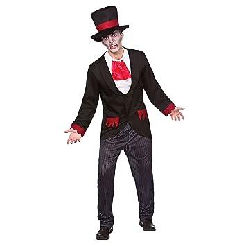 Disfraz De Halloween Para Hombre Del Victorian Del Vampiro Adulto M - Disfraz-de-halloween-para-hombre