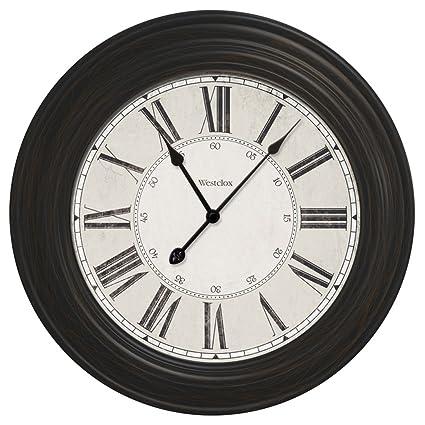 Amazon Com Westclox 844220008350 24 Large Decorative Wall Clock