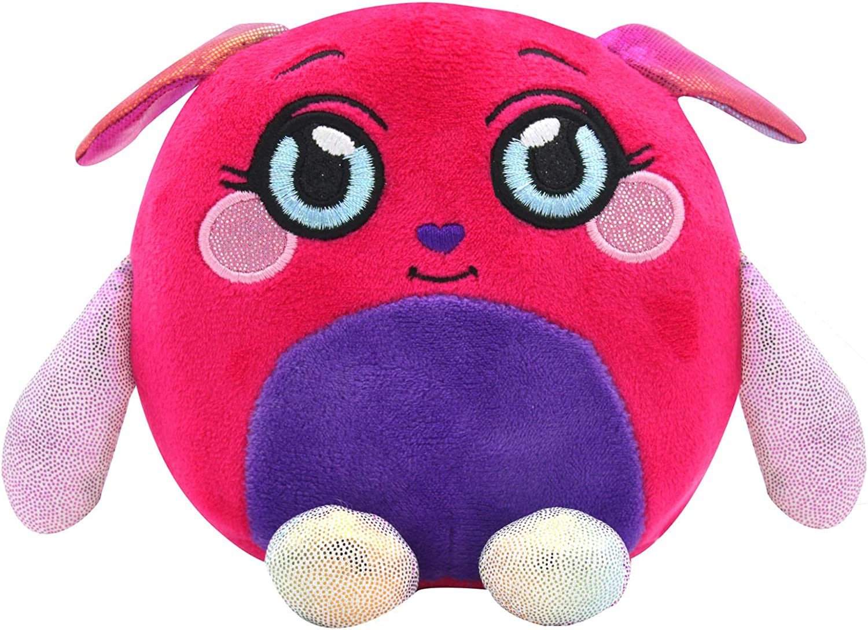 Squishy Stuffed Animal 3 Pack Dog, Dragon, Unicorn Mushmeez Squeezy Moldable Plush