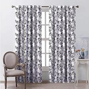 Amazon.com: hengshu Lush Decor Curtains 45 Inch Lenght ...