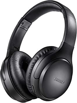 Boltune Bluetooth Kopfh/örer 5.0 Over-Ear Ohrh/örer Wireless ANC Headphones mit CVC 6.0 Ger/äuschunterdr/ückendes Mikrofon 30 Std Spielzeit f/ür iOS Android TV Noise Cancelling Kopfh/örer