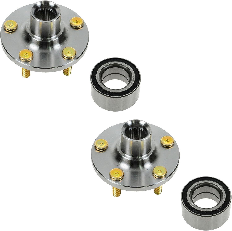 Wheel Hub /& Bearing Front Left LH /& Right RH Pair Set for Neon PT Cruiser 33mm