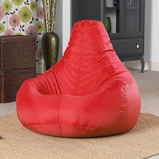 Designer Recliner Gaming Bean Bag RED