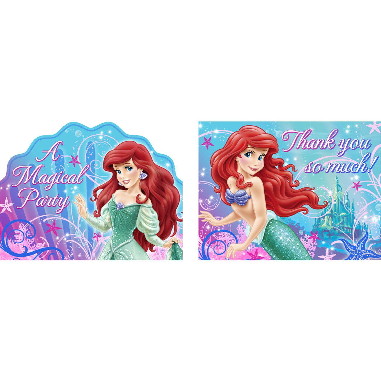 Amazon.com: Little Mermaid Party Supplies - Little Mermaid ...