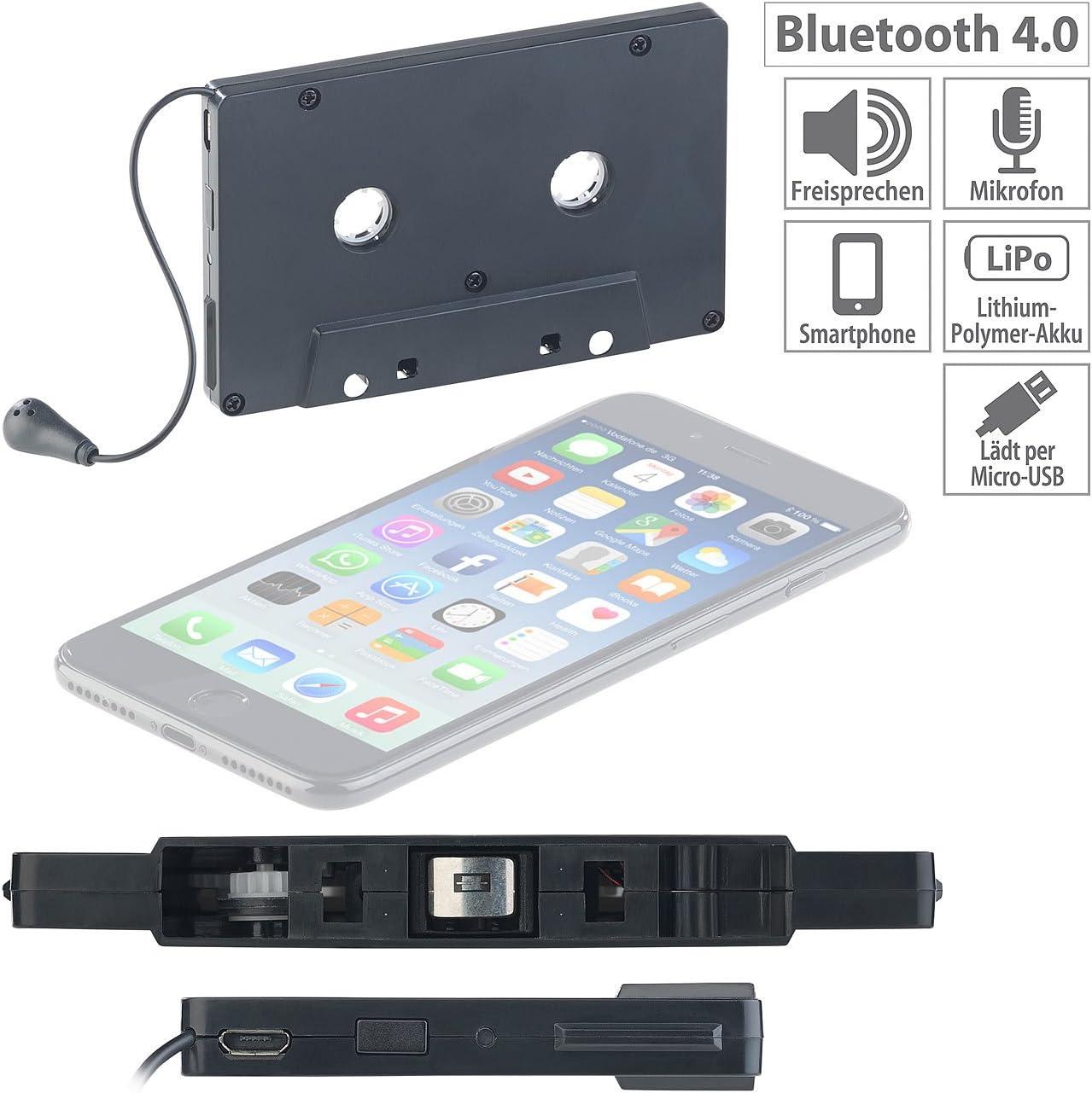 Auvisio Cassette Bluetooth Kabelloser Elektronik