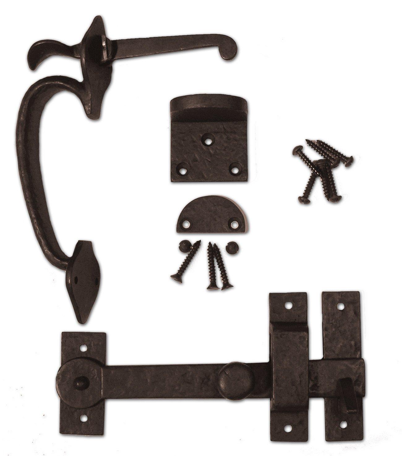Coastal Bronze - Gate Kit - Thumb Latch Drop Bar Set - 40-900