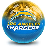 Strikeforce Bowling NFL Los Angeles Chargers On Fire Undrilled Bowling Ball