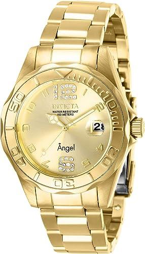 Invicta 28680 Reloj De Cuarzo Para Mujer Con Correa De Acero Inoxidable Color Dorado 18 Modelo 28680 Watches