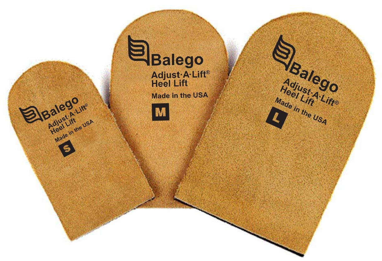 Balego Adjust A Lift Heel Lift, Small (Pack of 4) by Balego