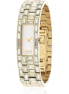 Armbanduhr damen esprit  Esprit Damen-Armbanduhr Analog Edelstahl: Amazon.de: Uhren