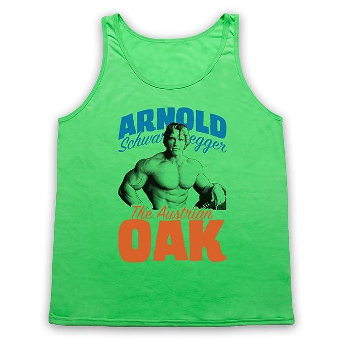 Inspiriert durch Arnold Schwarzenegger The Austrian Oak Bodybuilder  Unofficial Tank-Top Weste: Amazon.de: Bekleidung
