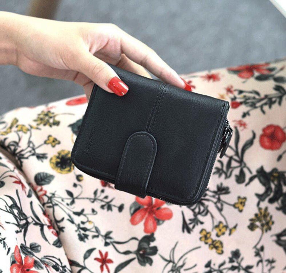 Ylen Mujer Billetera Doble Pequeña Cartera Embrague Corto Monedero Bolsillo Monedas Bolso: Amazon.es: Equipaje