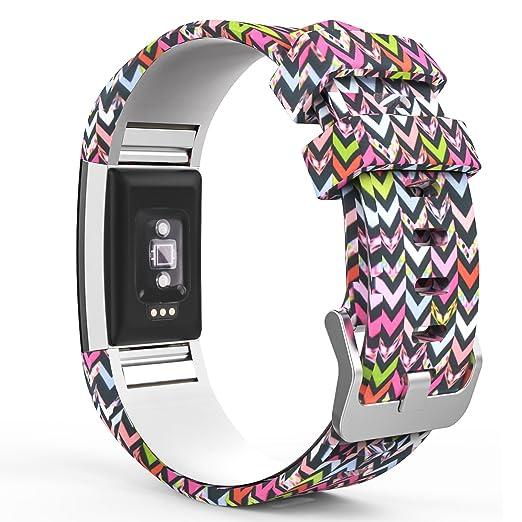 51 opinioni per MoKo Fitbit Charge 2 Cinturino, Braccialetto Morbido Sportivo di Ricambio in