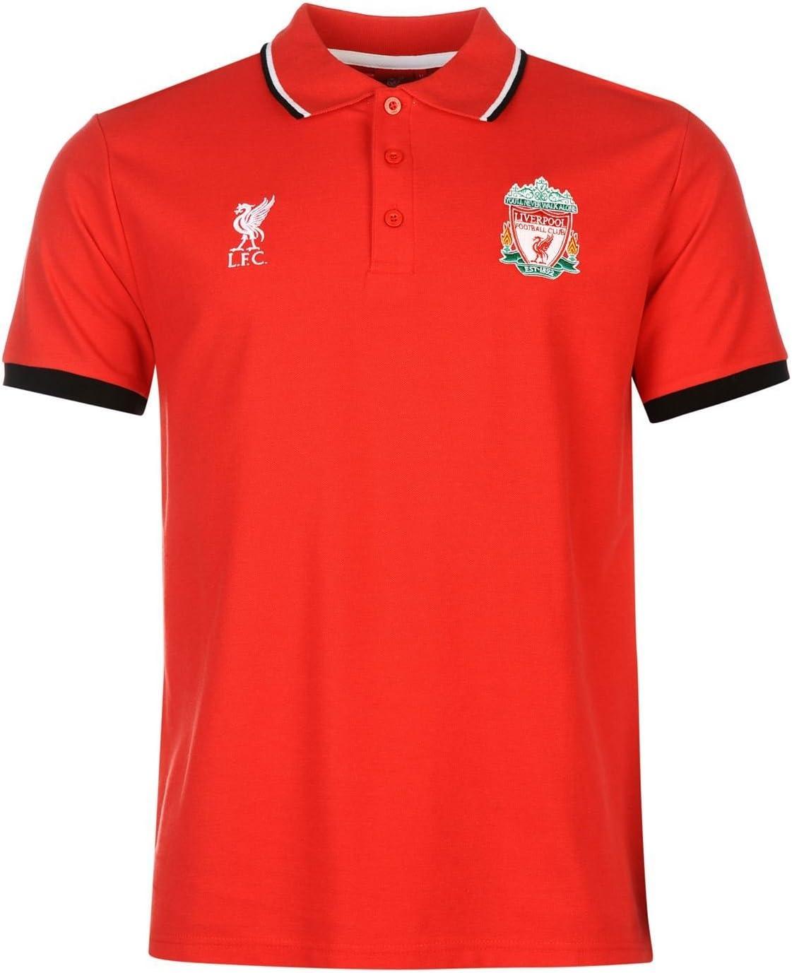 Liverpool FC Polo para hombre fuente Lab para hombre rojo fútbol ...