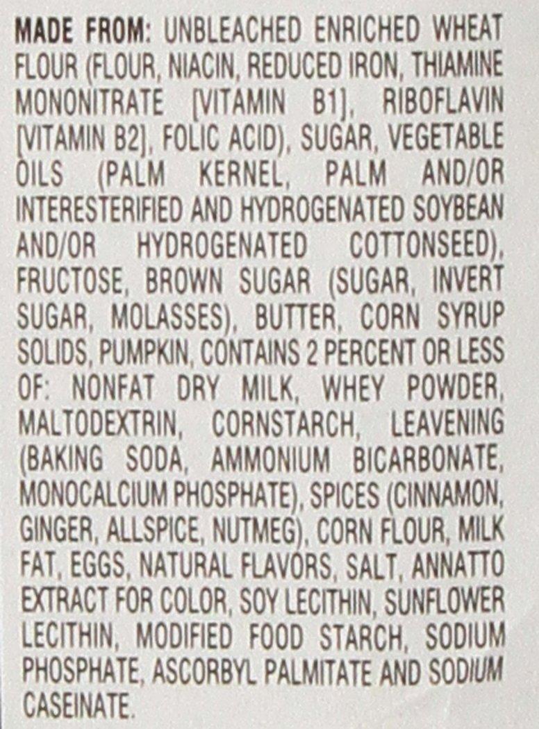 Pepperidge Farm Calabaza tarta de queso suave postre galletas edición limitada: Amazon.es: Alimentación y bebidas