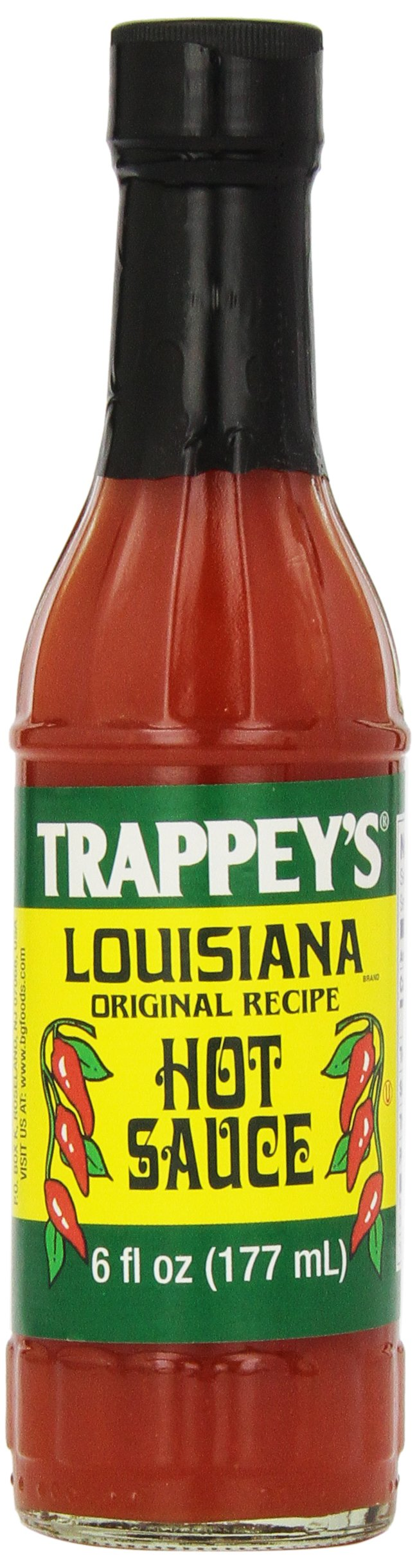 Trappeys Louisiana Hot Sauce, 6 Fluid Ounce (Pack of 24)