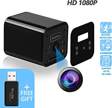 Amazon.com: Cámara oculta – JAKIELAX adaptador de cámara ...